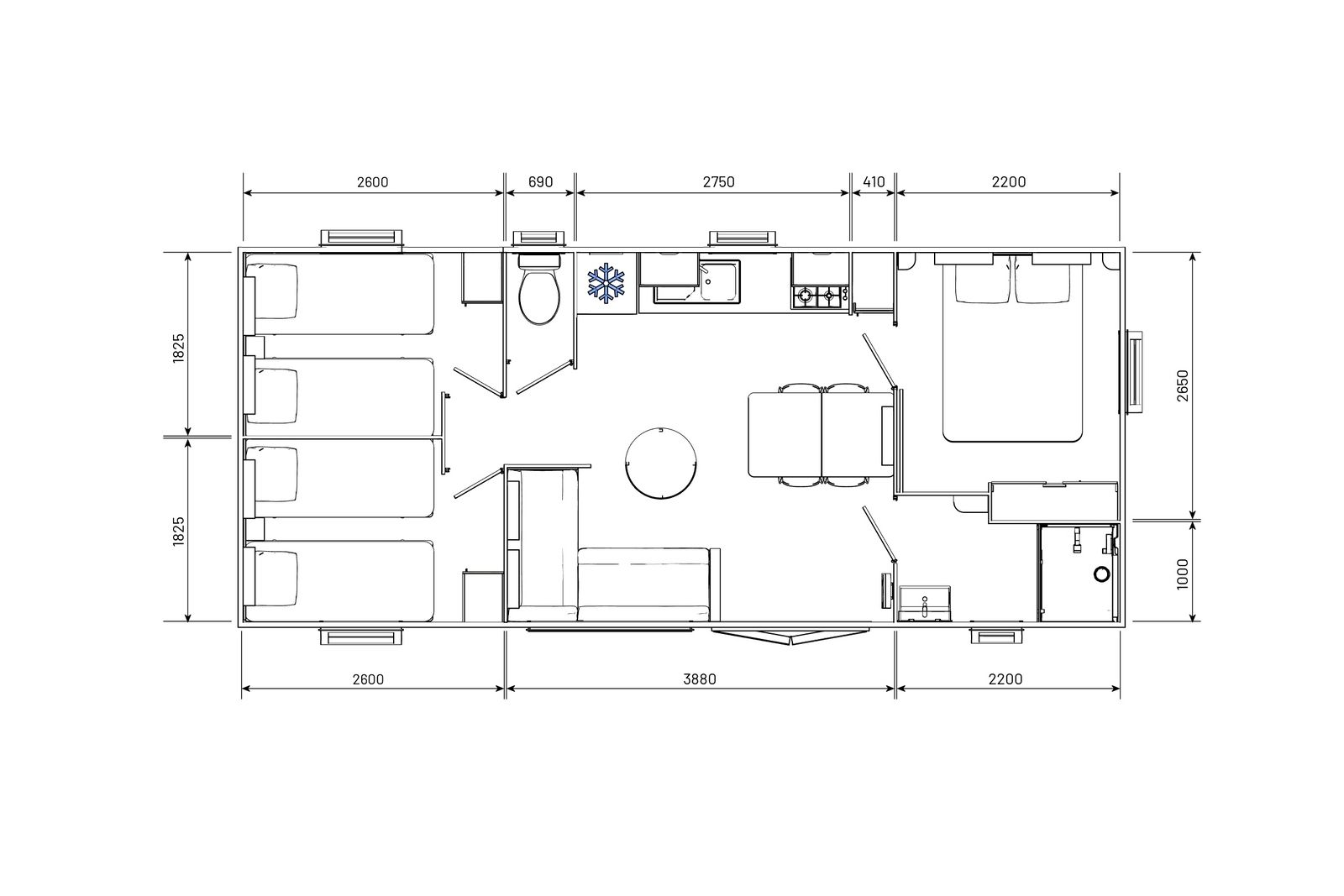 residences-trigano-mobil-home-3chambres-evolution35-plan-2D