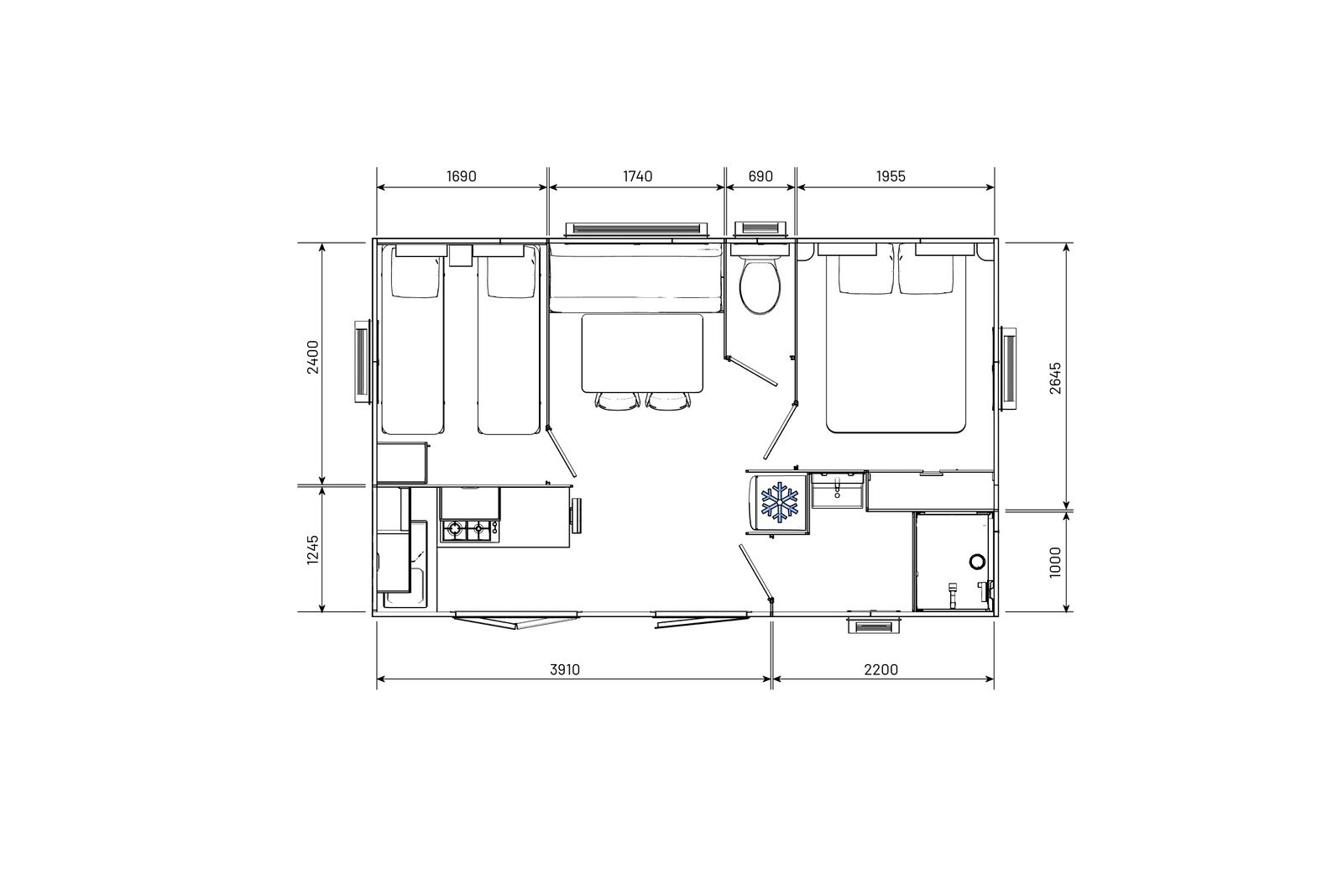 residences-trigano-mobil-home-2chambres-evolution24-plan-2D