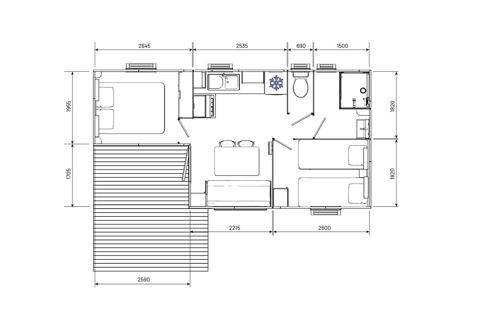 residences-trigano-mobil-home-2chambres-evolution29ti-plan-2D